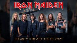 "El ""Legacy of the Beast Tour 2020"" se pospone para 2021"